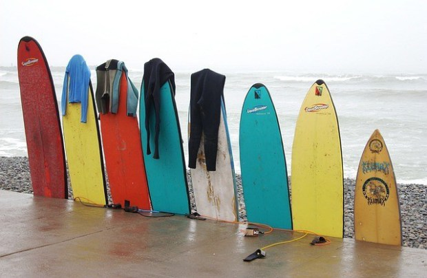 Volumen y litros de una tabla de surf