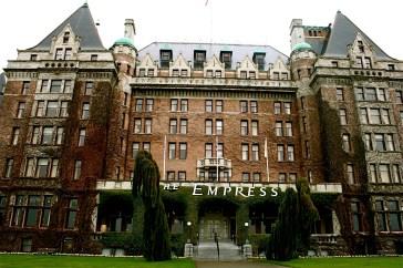 empress Hotel entrance