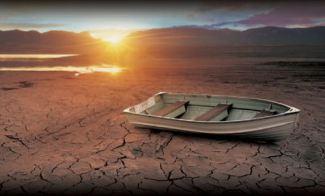 Row boat drought