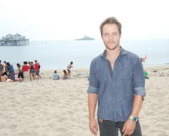 Graham Hamilton at Beach