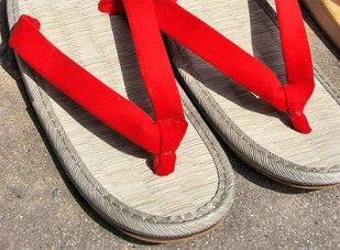 Japanese zori sandals