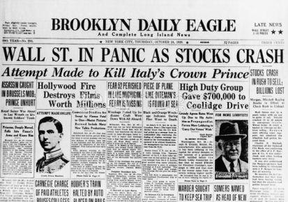 stockmarket crash