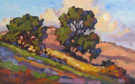 Tom Brown painting