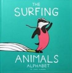 surfing animals alphabet book