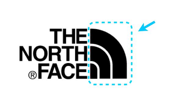 THENORTHFACE ブランドロゴ マーク ハーフドーム モチーフ