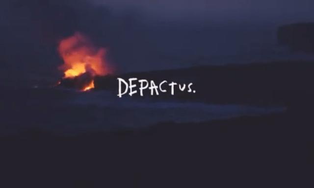 depactus ディパックタス ブランドロゴ ボードショーツ サーフパンツ