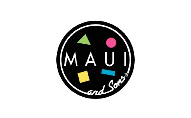 mauiandsons ブランドロゴ マウイアンドロゴ