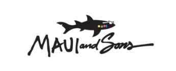 mauiandsons ブランドロゴ マウイアンドロゴ サメ