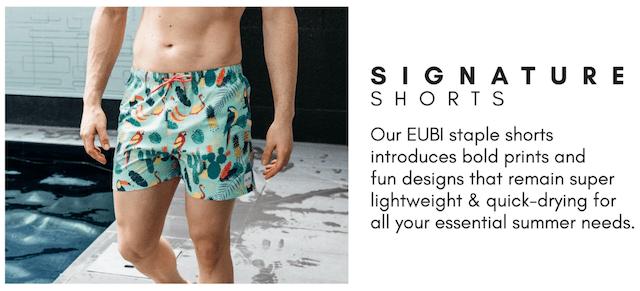 eubi swim signature short