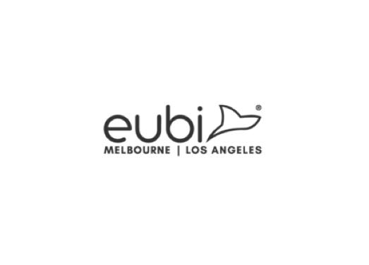 eubi swim wear brand logo