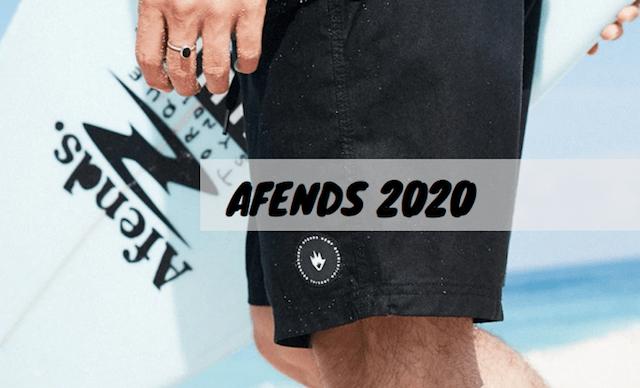 afends boardshorts 2020