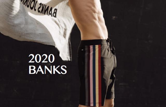 banks 2020 boardshorts