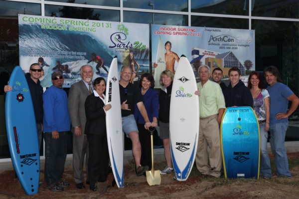 Surf's Up Wave Pool at SkyVenture's in NH Breaks Ground
