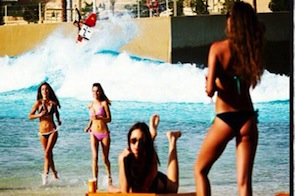 Wadi Adventure Wave Pool Surf Park | Dion Agius Cover of Surfing Magazine