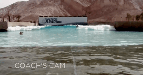 Sally Fitzgibbons Wadi Adventure Wave Pool Project Poolside   Coach's Cam