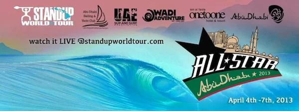 Abu Dhabi All Stars Live Stream   SUP Wave Pool Event