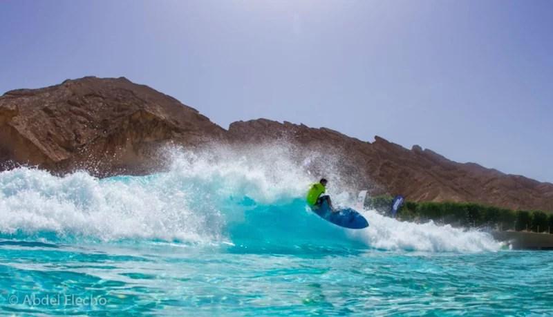 Stand Up World Tour Wadi Adventure 2014 | Frontside Blast | Surf Park Central