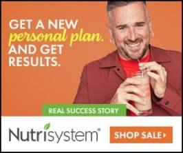 Nutrisystem for Men 50% Off