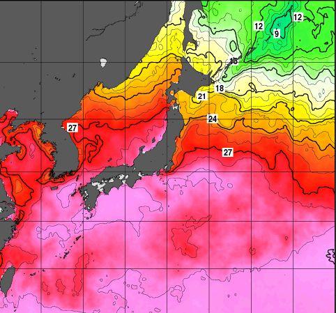 3つ同時発生台風15号16号17号