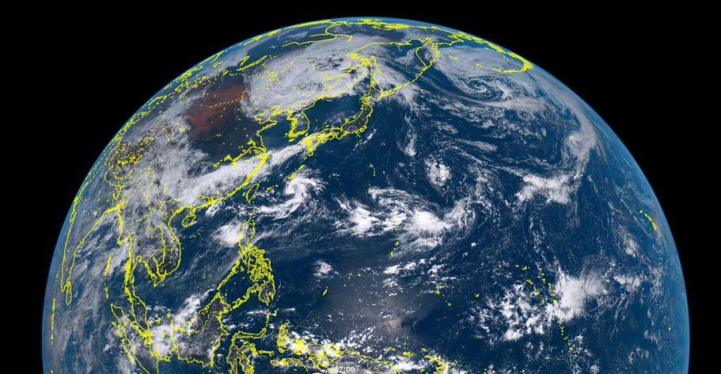 台風12号ナムセーウン