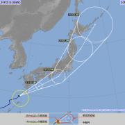 台風13号マーロウ