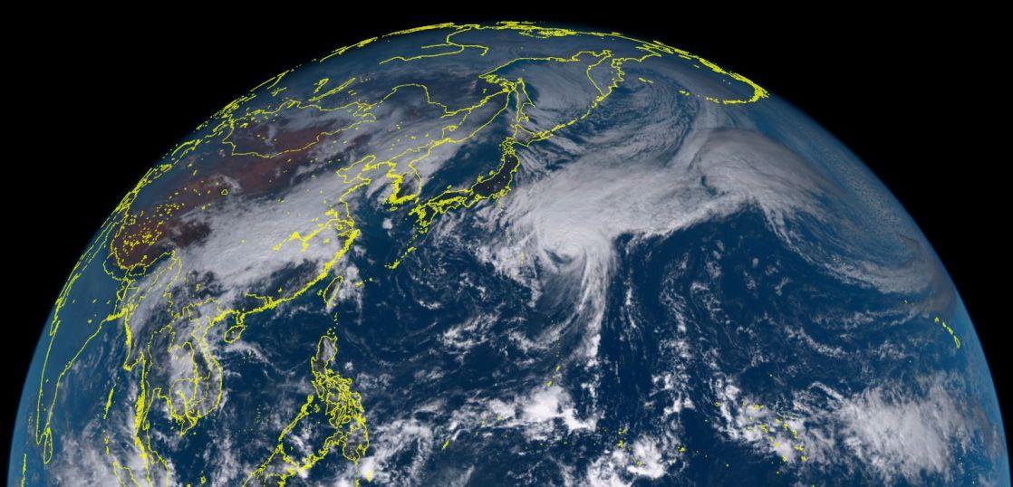 台風23号メアリー