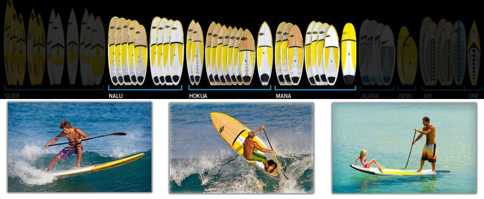 SUP board options