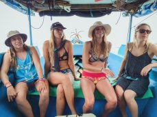 boat trip ladies