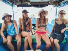boat trip ladies