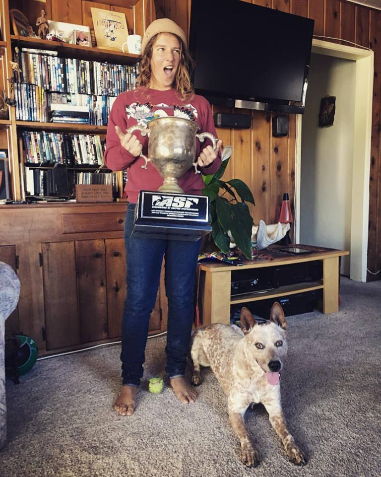 World Longboard Champion Jen Smith