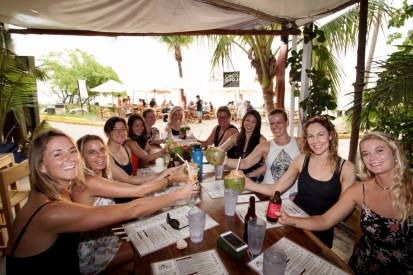 surf with amigas, learn to surf, womens surf camp, north costa rica, playa grande
