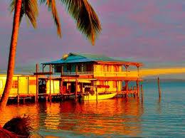 casa acuario sunset
