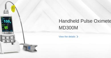 Пульсоксиметр для пульсоксимерии md300m