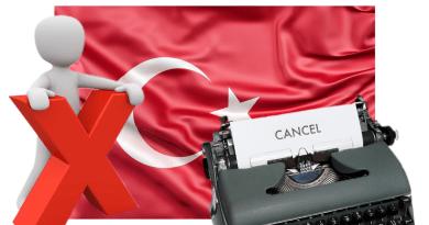 Трёхлетний запрет на выезд за отдых в Турции
