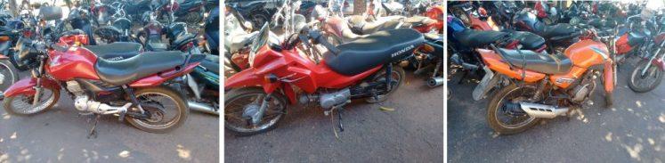 295-2016 Honda Fan vermelha recuperada no setor Oeste