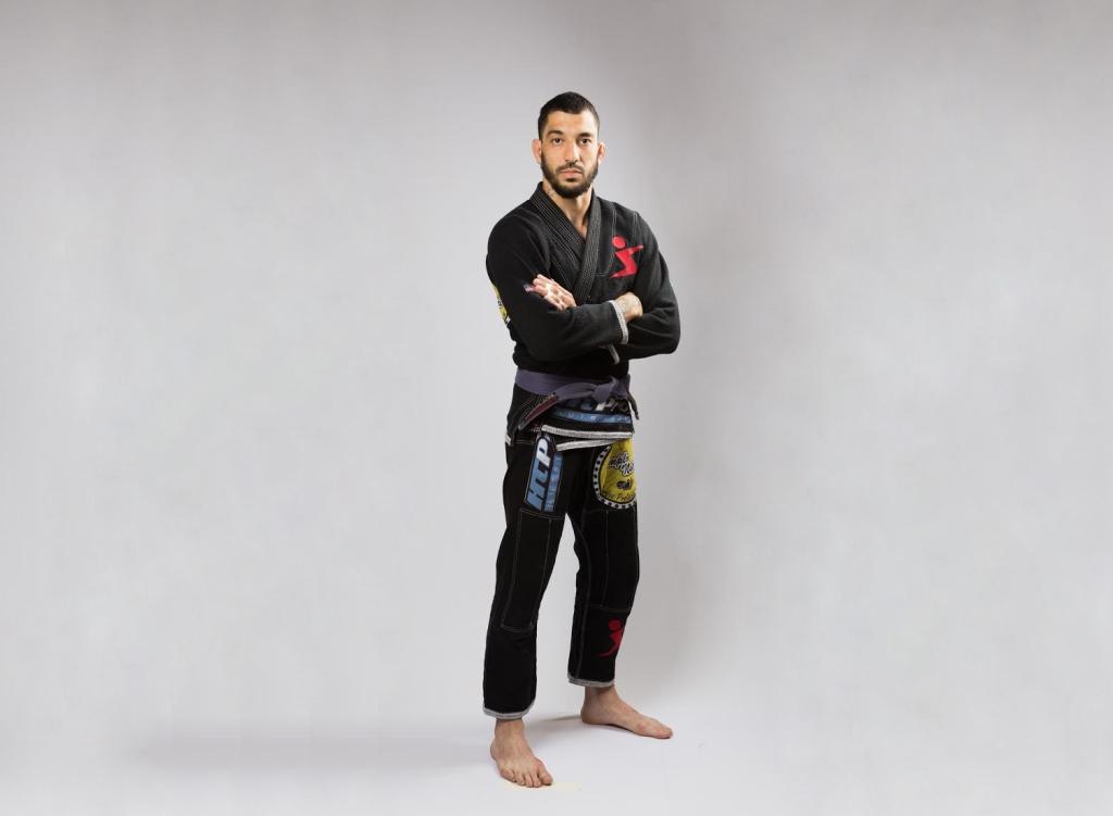 Rodrigo Oliveira compete no Mundial de Jiu-Jitsu Esportivo, em São Carlos
