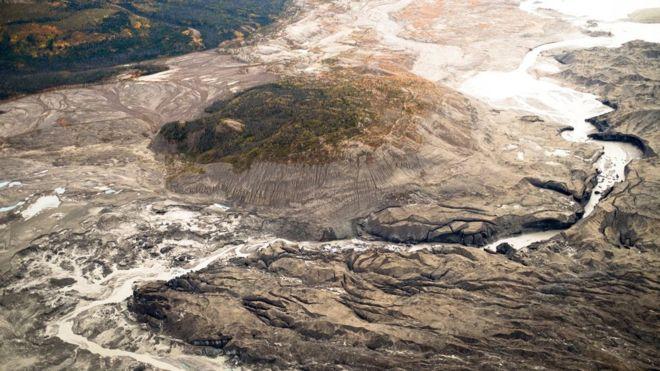 Como um imenso rio desapareceu em 4 dias no Canadá