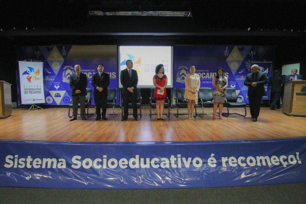 Cerimônia encerra curso de formação dos aprovados do Sistema Socioeducativo do Tocantins