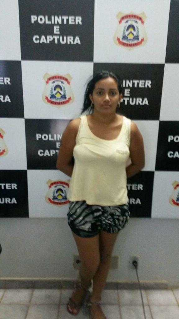 Polícia Civil cumpre mandado de prisão preventiva contra mulher suspeita por tráfico de drogas em Palmas