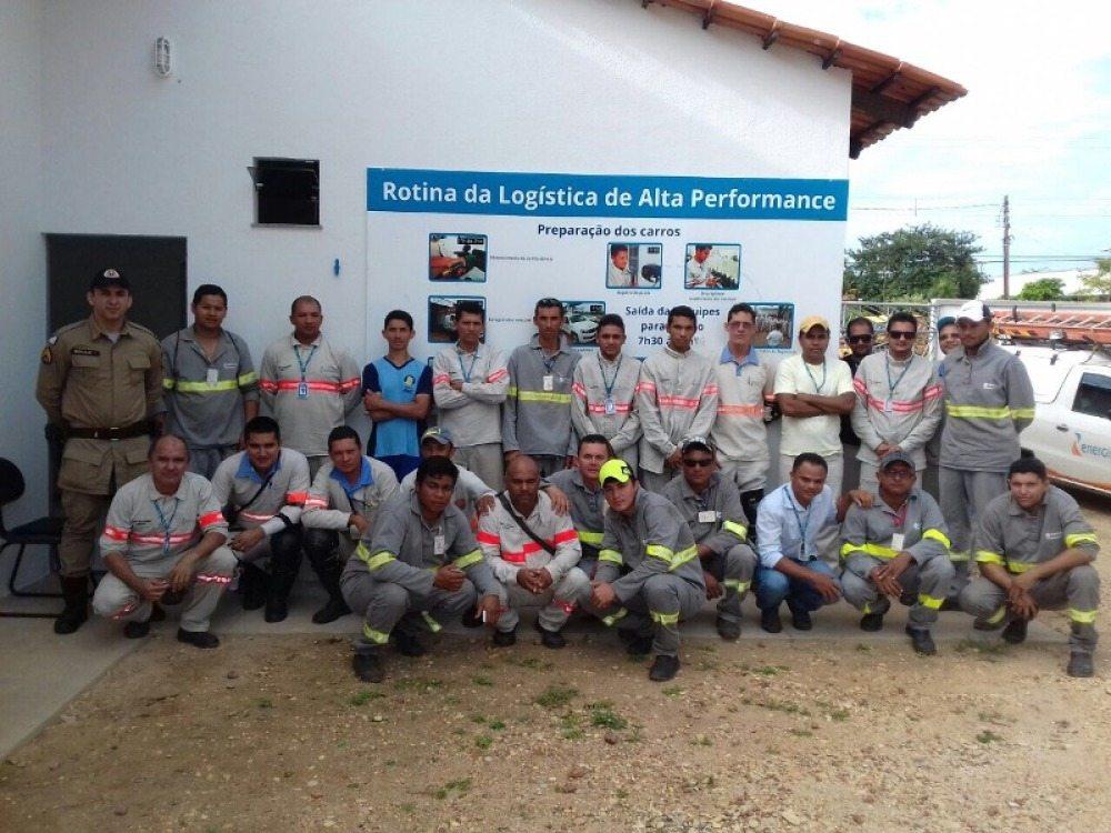 PM realiza palestra sobre trânsito com funcionários da Energisa em Augustinópolis