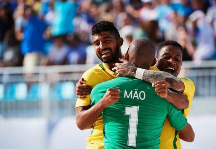 Brasil é pentacampeão da Copa do Mundo de beach soccer