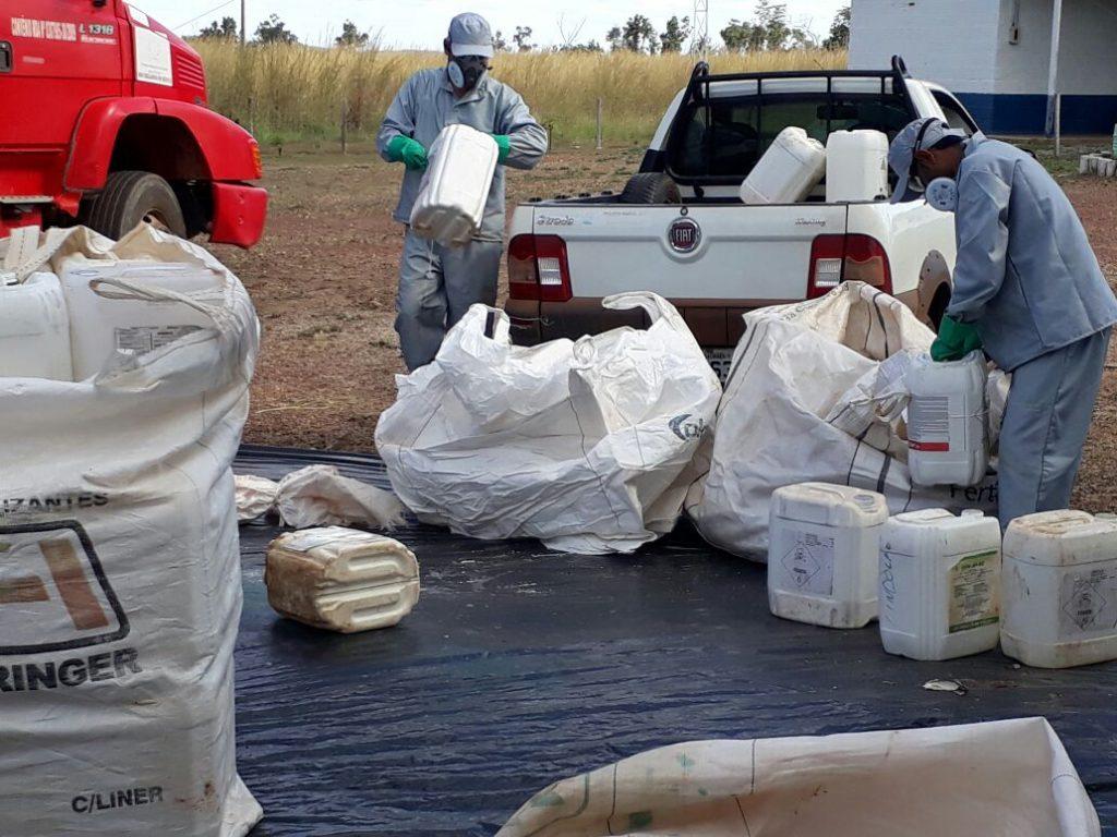 Edição de R.I em Dianópolis devolve mais de 500 embalagens de vazias de agrotóxicos