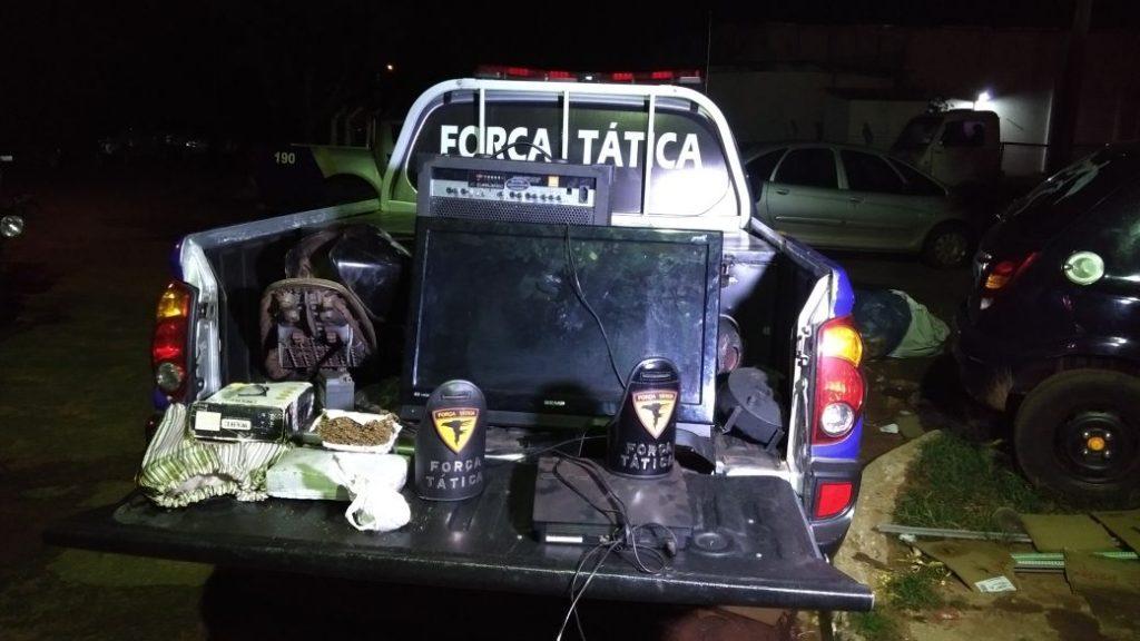 Três pessoas são presas em Araguaína por porte ilegal de arma de fogo e duas por tráfico de drogas