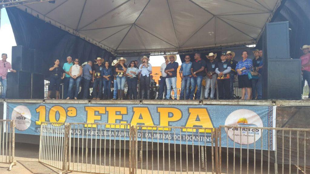 Luana Ribeiro participa da 10ª Feapa em Palmeiras e da 2ª  Semana do Bebê, em Araguaína
