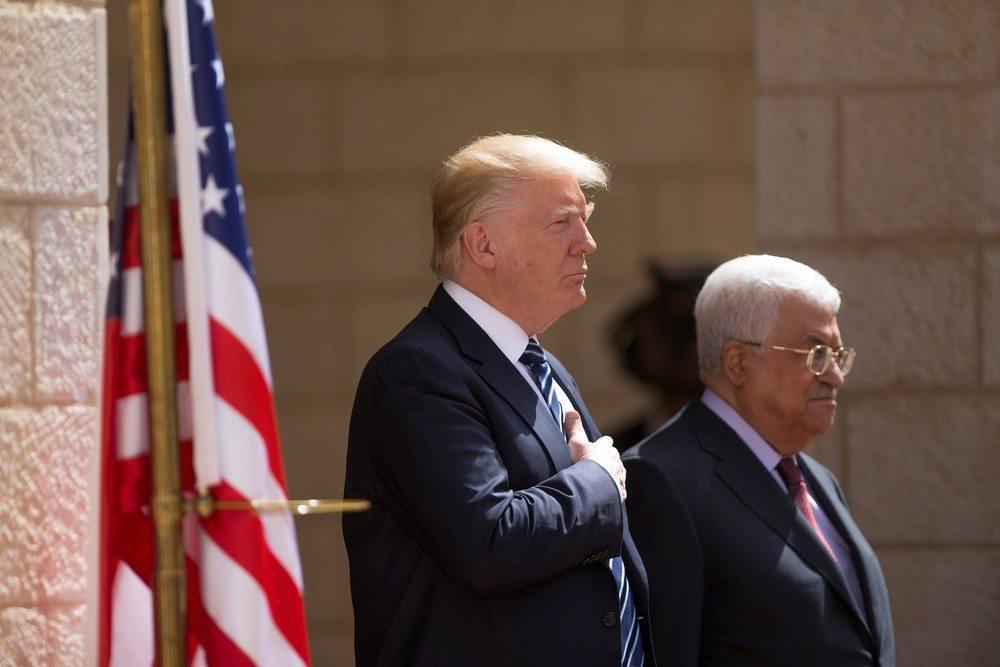 Trump visita Belém, na Cisjordânia ocupada, para reunião com Abbas