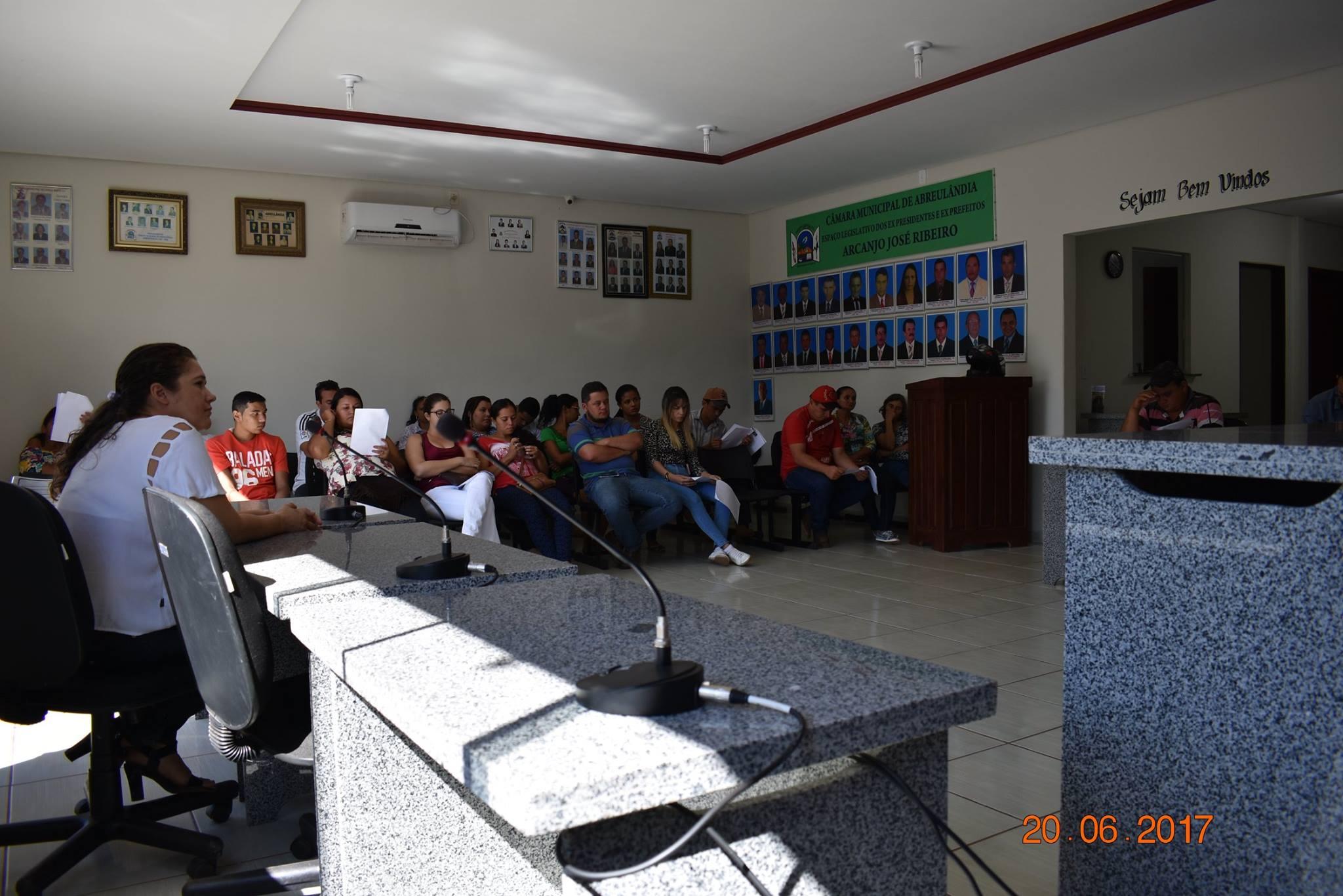 Audiência Pública do Fundo Municipal de Saúde de Abreulândia