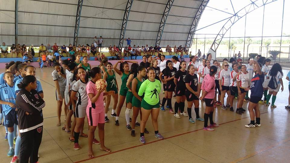 Prefeitura de Caseara realiza 3° Torneio de Futsal Feminino