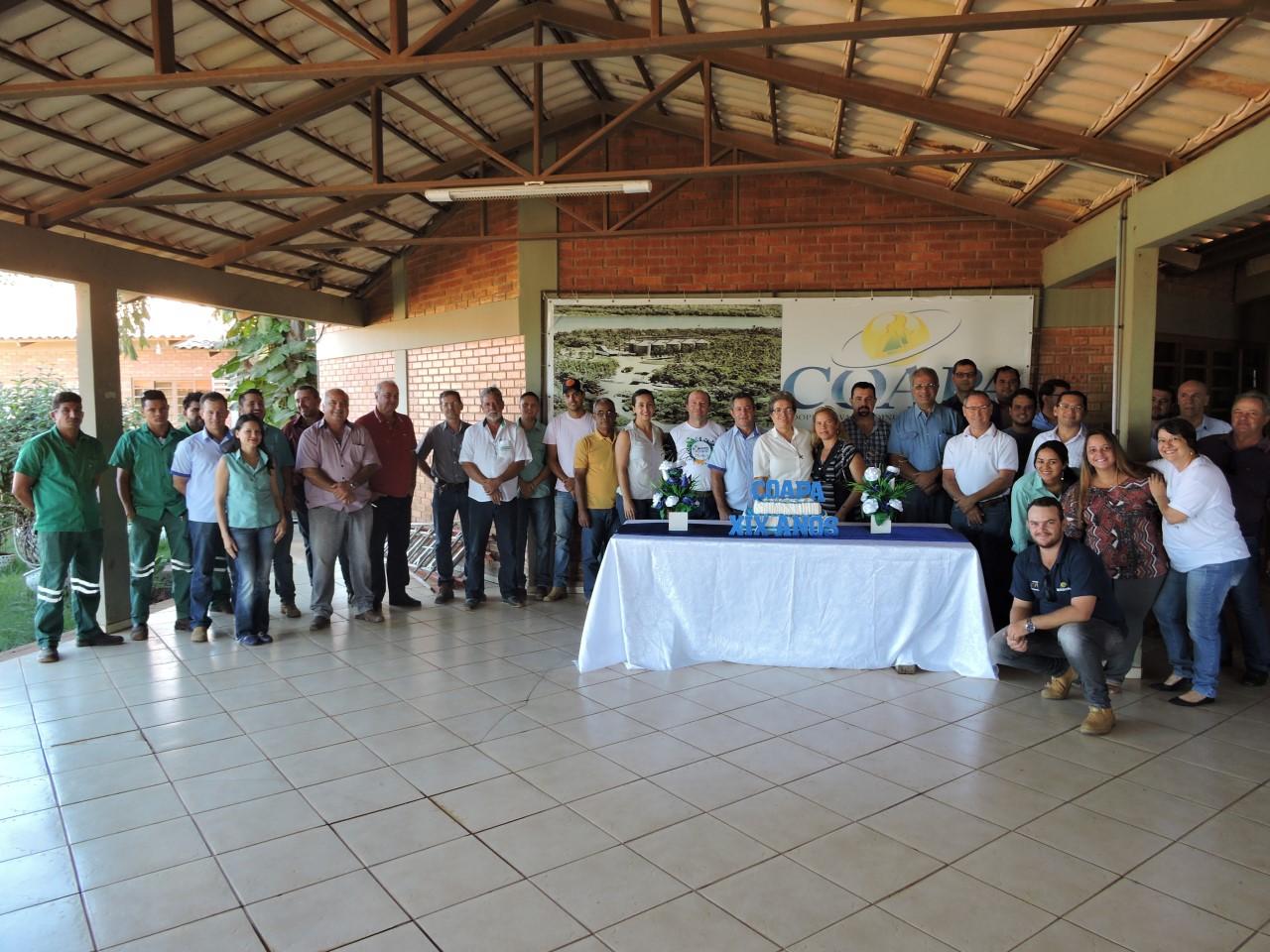 Fé e gratidão marcam o 19º aniversário da Coapa, em Pedro Afonso