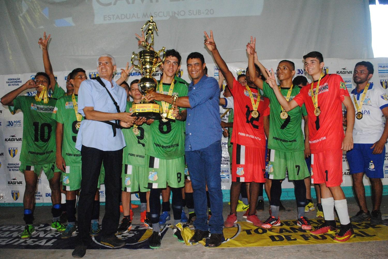 Pedro Afonso é bi-campeão do Estadual Sub-20 2017
