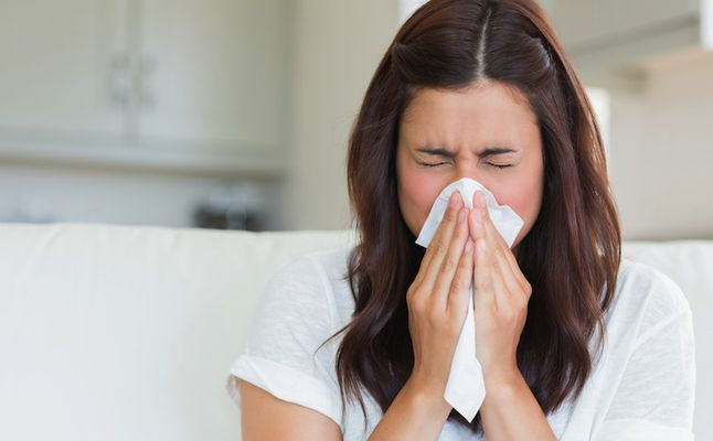 Rinite alérgica é mais comum nesta época do ano